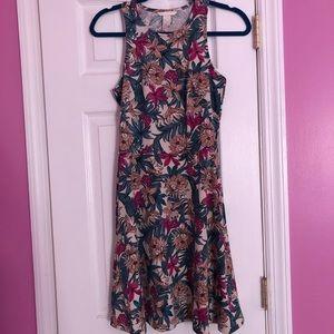 H&M Flirty Floral Print Dress